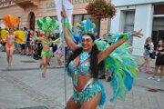 Ako vždy najviac ľudí privábil karnevalový sprievod.
