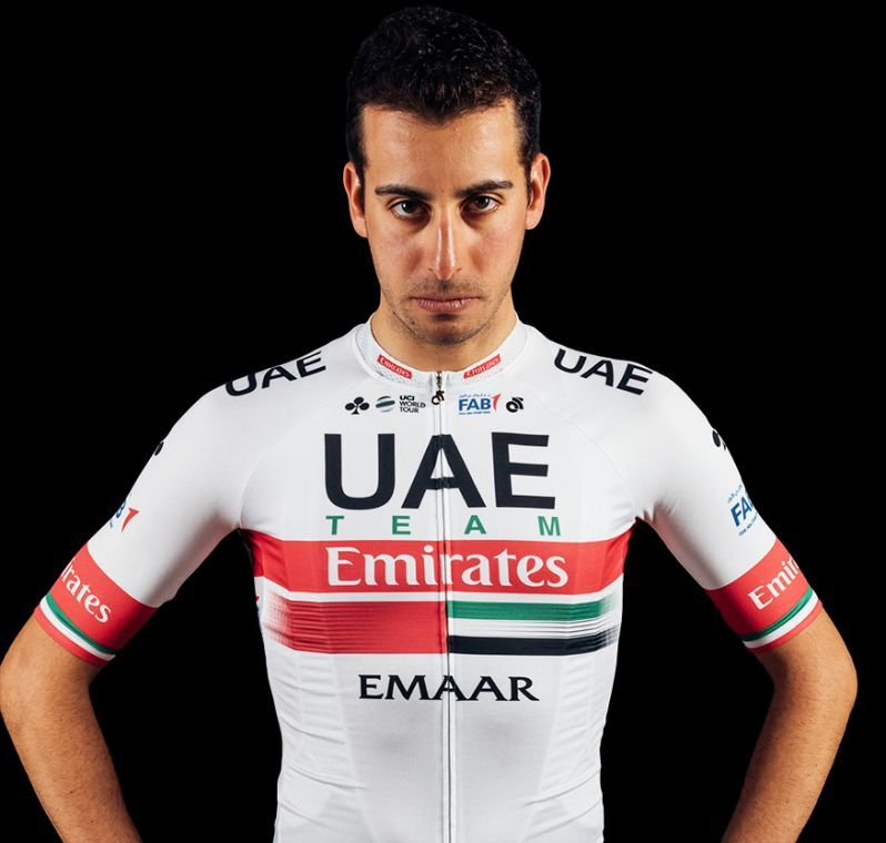 Fabio Aru, cyklista, tím UAE Team Emirates