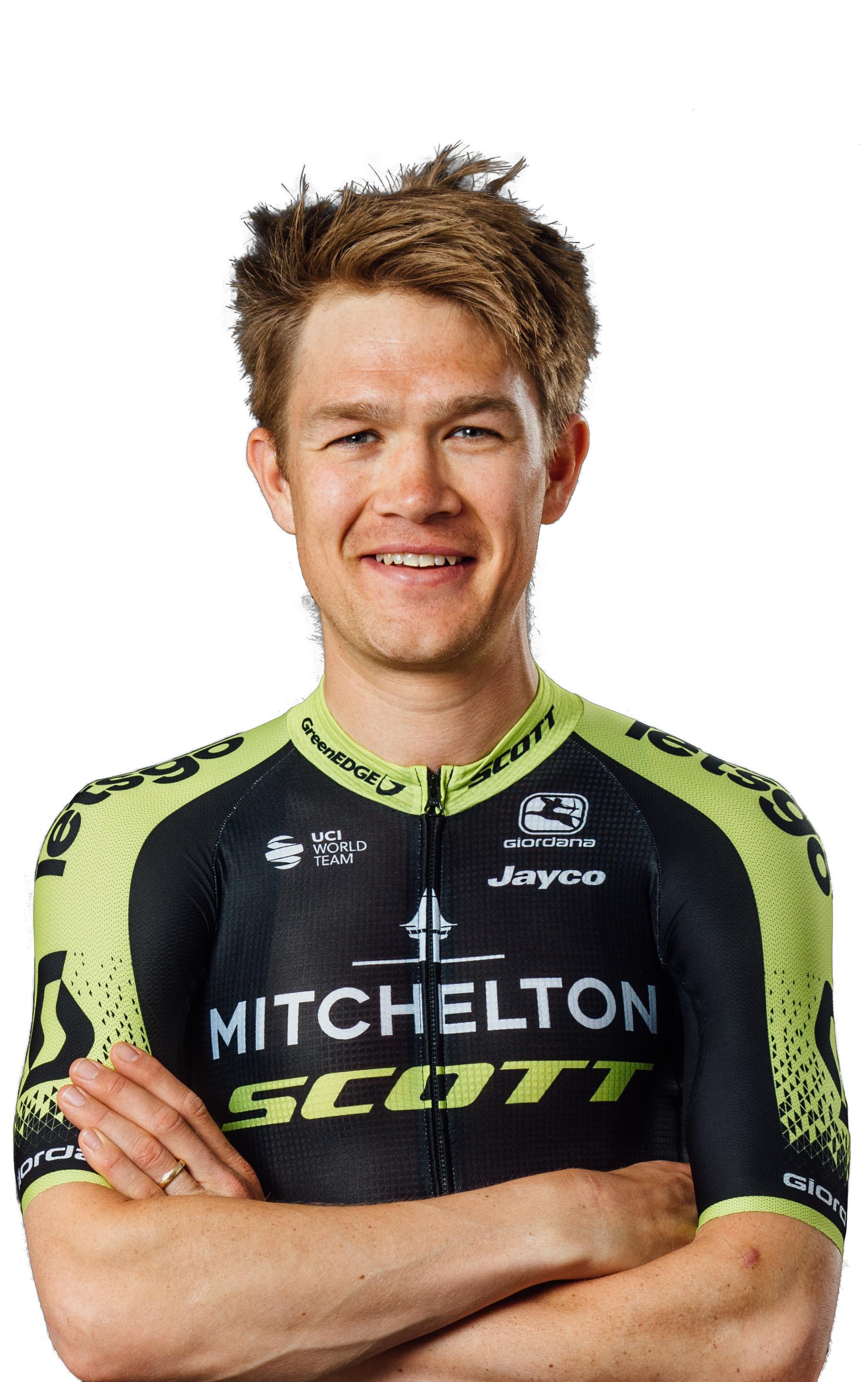 Christopher Juul-Jensen, cyklista, tím Mitchelton - Scott