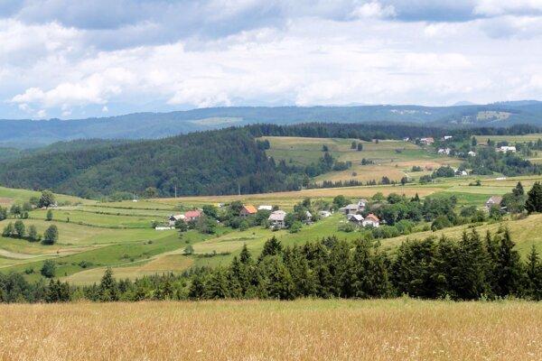 Výhľad z Ježovky ponúka panoramatické scenérie.