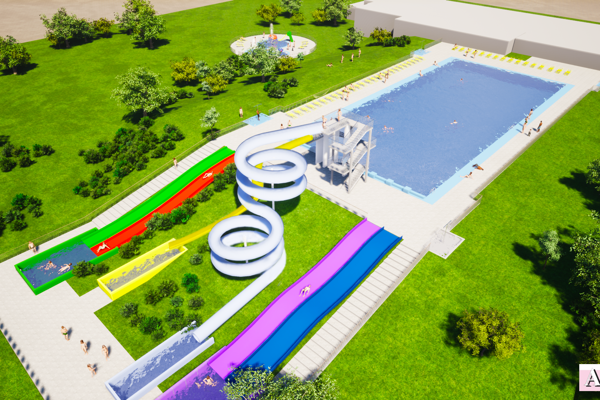 Obnova kúpaliskového areálu by mala priniesť nové atrakcie, v záverečnej fáze by to malo mesto stáť 1,25 milióna eur.