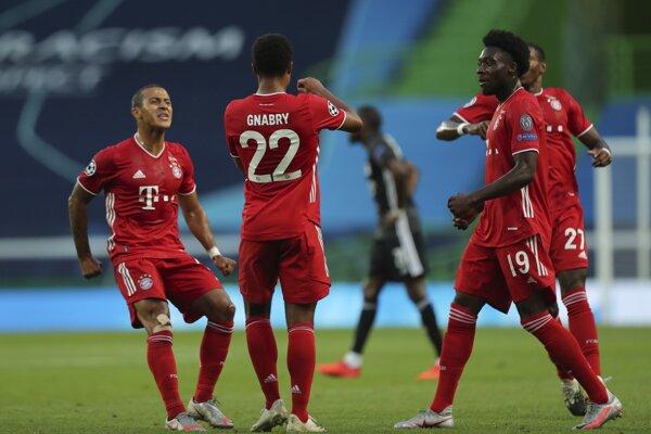 Futbalisti Bayern Mníchov na ilustračnej fotografii.