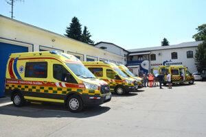 Poistenie celého vozového parku záchranku ročne stojí 47 840 eur.