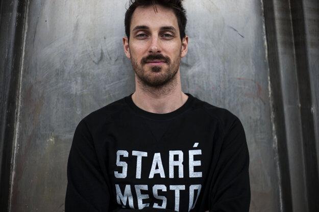 Adam Berka na snímke z roku 2014.