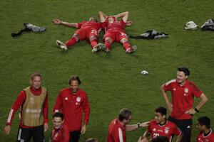 Momentka zo zápasu Bayern Mníchov - PSG.