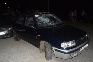 Na aute boli pripevnené ŠPZ z iného vozidla.