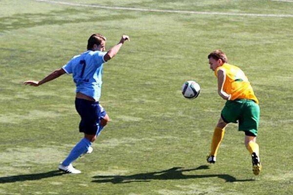 Jediný gól Nitry strelil spoza 16-tky Matúš Paukner.