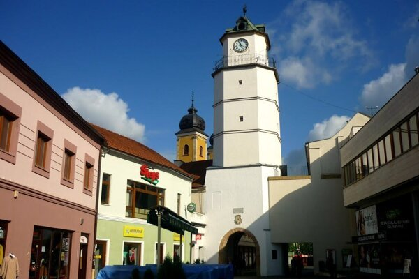 Mestská veža Trenčín.