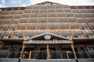 Komplex, v ktorom sídli Residence Hotel & Club a Unipharma Apartments.