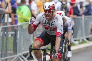 Alexander Kristoff vyhral 1. etapu na Tour de France 2020.
