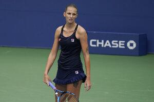Karolína Plíšková v 2. kole US Open 2020.