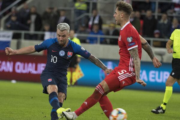 Albert Rusnákvseptembrových zápasoch slovenskej reprezentácii nepomôže.