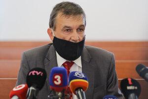 Predseda Špecializovaného trestného súdu v Pezinku Ján Hrubala po vynesení rozsudku v kauze vraždy Jána Kuciaka a Martiny Kušnírovej.