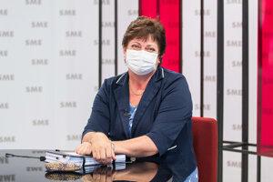Mária Patakyová v relácii Rozhovory ZKH.