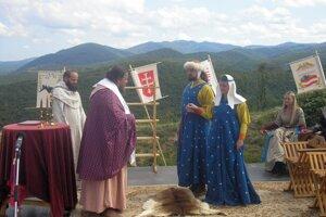 Kráľovská svadba na Zvolenskom hrade