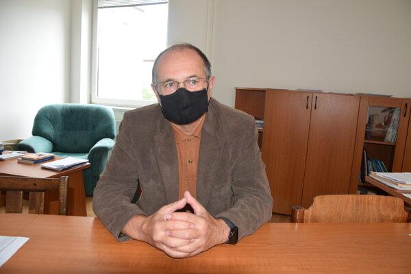 Regionálny hygienik Martin Kapasný.