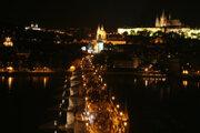 Karlov most a Hradčany
