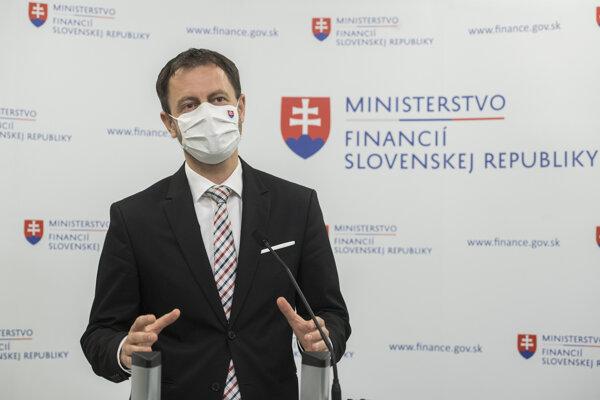 Eduard Heger, minister financií.