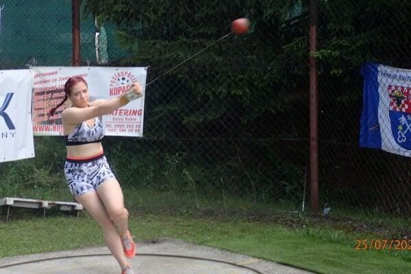 Simona Kereškényiová atakovala na majstrovstvách medailové priečky.
