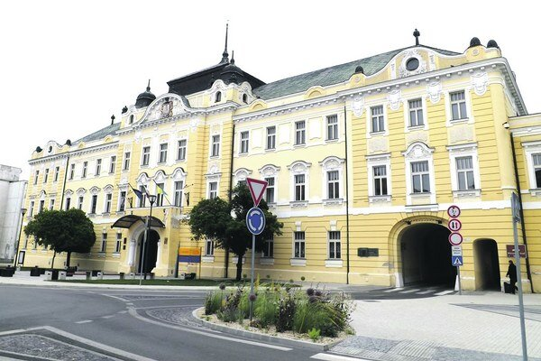 Župný dom, sídlo župana a niektorých úradníkov.