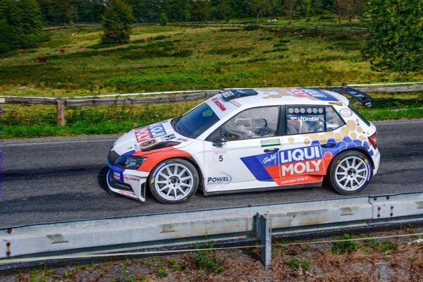 Igor Drotár skončil v sobotu tretí a v nedeľu štvrtý.