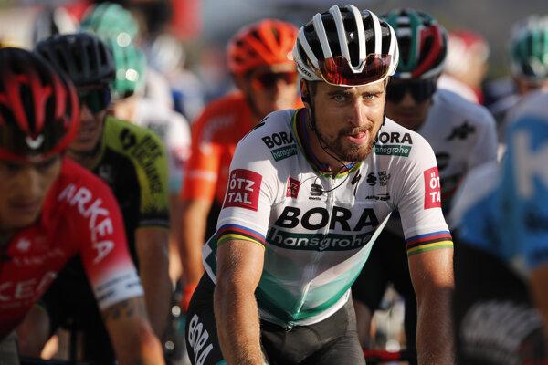 Peter Sagan na Tour de France 2020.