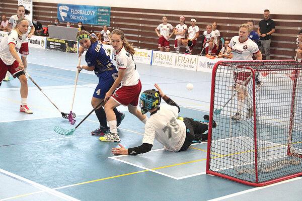 Tvrdošínčanky si prehrali zápas proti Hurikánu Bratislava v poslednej tretine.