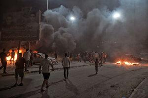 Demonštrácie vo východolíbyjskom meste Benghází.