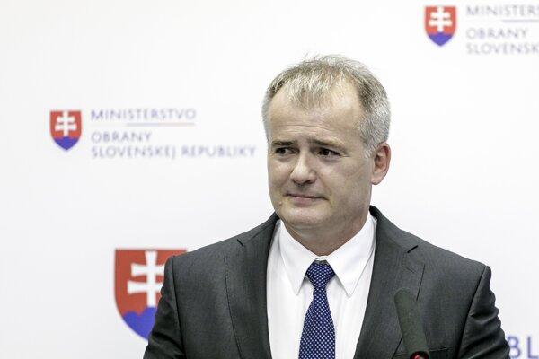Riaditeľ Vojenského spravodajstva Róbert Kleštinec.