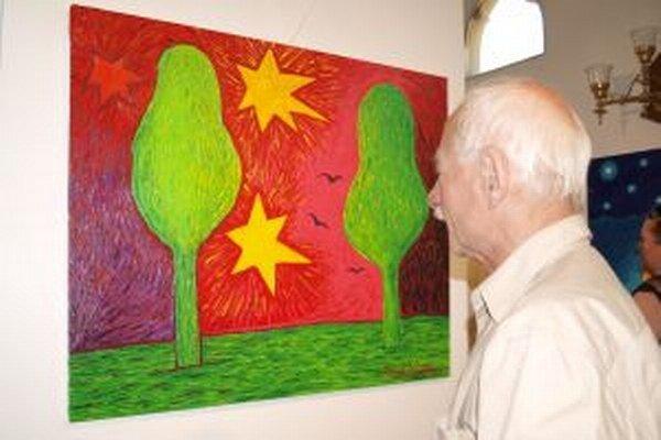 Výstava Rytmy farieb v Nitre potrvá do 23. júna.