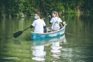 V povodí Malého Dunaja bolo tohto roku menej odpadu, ako bývalo v minulosti.