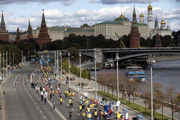 V nedeľu 20. septembra sa v centre Moskvy konal maratón s medzinárodnou účasťou.