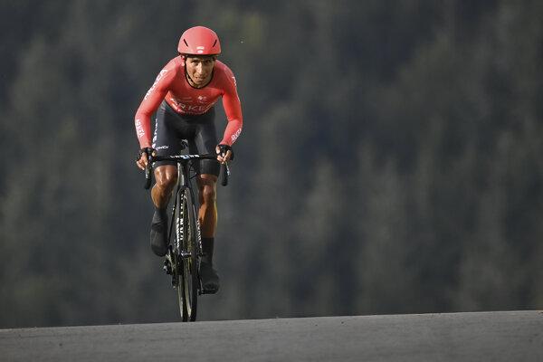Nairo Quintana na Tour de France 2020.