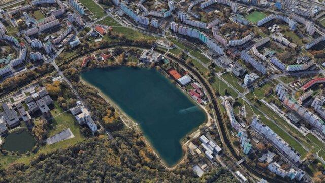 Jazero Veľký Draždiak.
