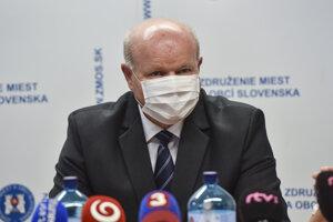 Prezident Združenia miest a obcí Slovenska (ZMOS) Branislav Tréger.