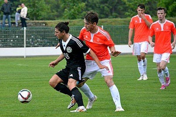 K výhre Veľkého Medera nad Topoľčanmi 7:1 prispel jedným gólom aj gruzínsky legionár Georgij Gamkrelidze.