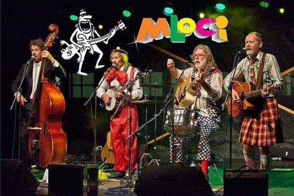 Hudobná skupina Mloci vystúpia v rámci podujatia Prima Musica Pyramida.