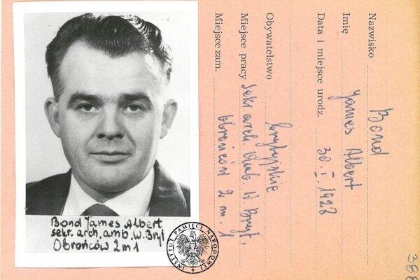 James Albert Bond v službách jeho veličenstva v Poľsku.