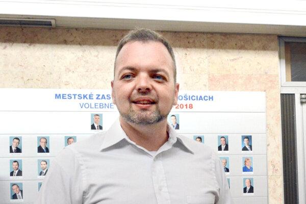 Starosta Marcel Vrchota (SaS).