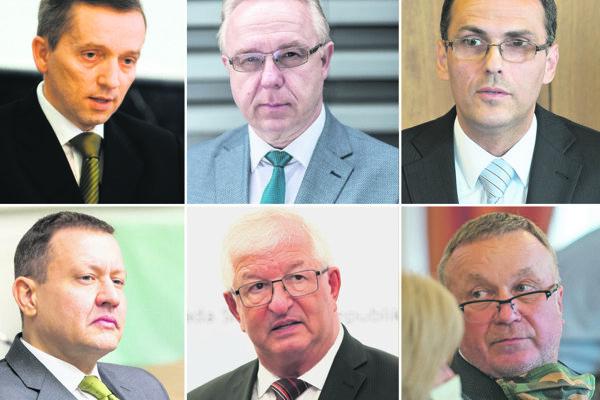 Možní kandidáti na post generálneho prokurátora: Jozef Čentéš, Ján Šanta, Maroš Žilinka či Juraj Kliment. Z hry už vypadli Daniel Lipšic a Ján Mazák.