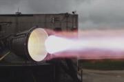 Zážihový test vákuovej verzie motora Raptor.