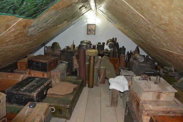 Nevšedný nález v jednom z domov v obci vo Veľkokrtíšskom okrese.