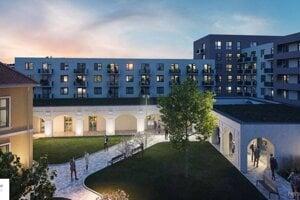 Takto by mal objekt Mlynskej bašty vyzerať podľa investora po úplnej rekonštrukcii.