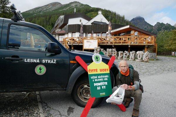 Igor Stavný, koordinátor podujatia Čisté hory a lesný pedagóg Štátnych lesov TANAP-u.
