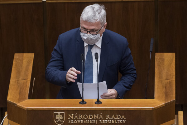 Predseda Rady pre rozpočtovú zodpovednosť (RRZ) Ivan Šramko.