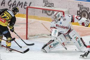 Ilustračná fotografia zo zápasu Bratislava Capitals.