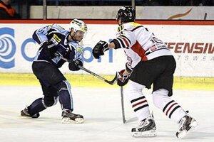 O víťazný gól sa v nedeľu na banskobystrickom ľade postaral dokonca v oslabení skúsený obranca Dušan Milo.