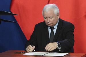 Jaroslaw Kaczynski zasadol do poľskej vlády.