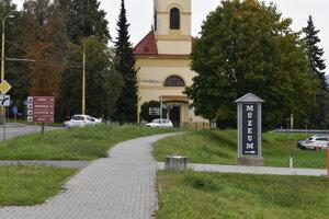 Prešovský Solivar. Nachádza sa tu mnoho kultúrnych pamiatok.