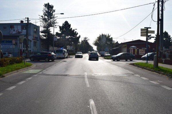 Zelenečská ulica v Trnave.